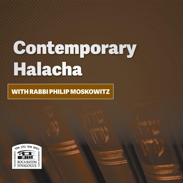 Contemporary Halacha