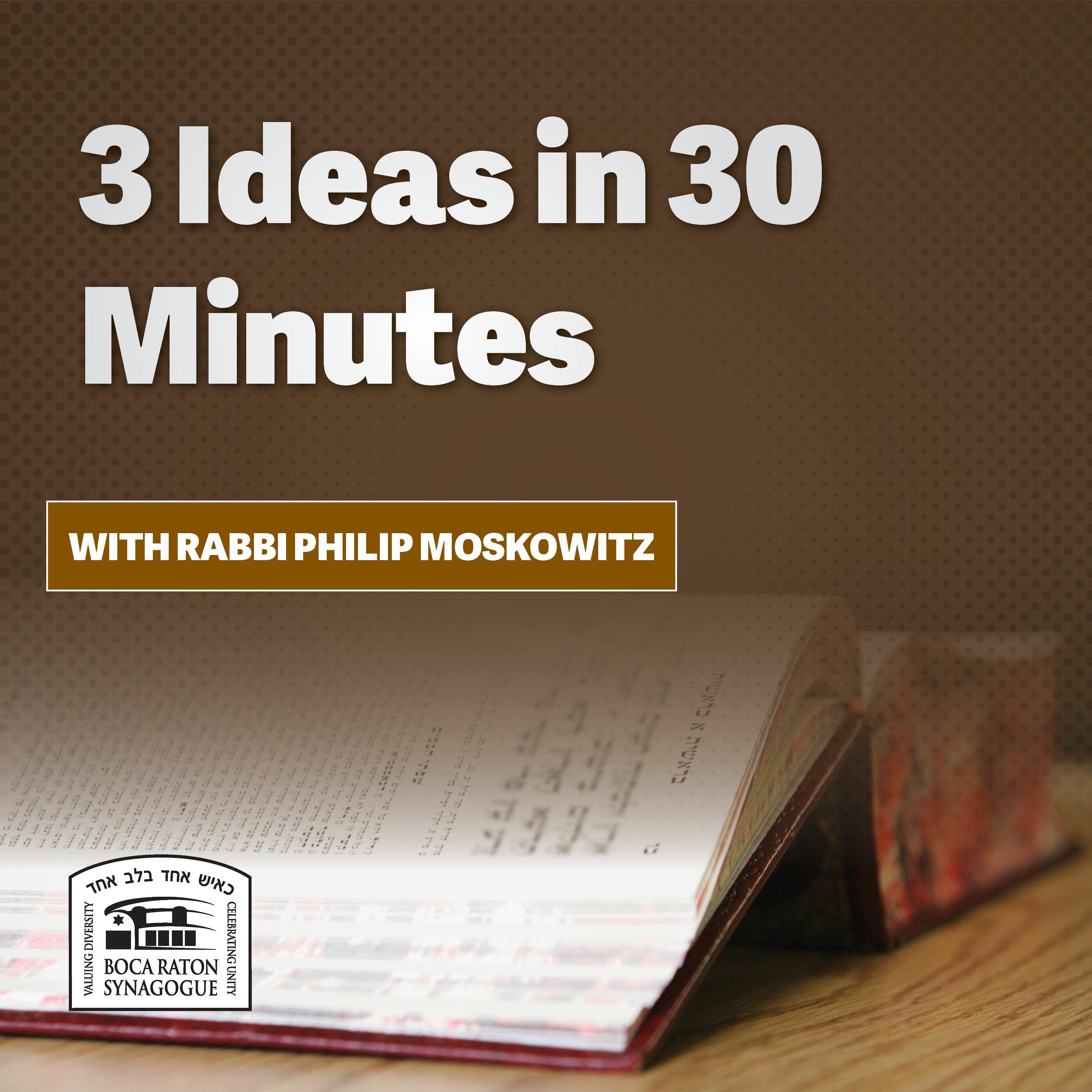 Listen: 3 Ideas in 30 Minutes